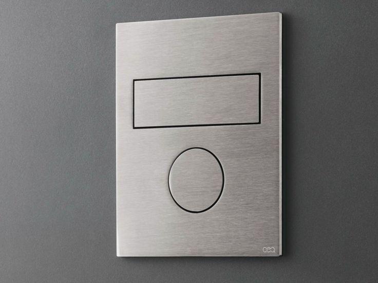 Placca di comando per wc / idroscopino PLA 11 by Ceadesign S.r.l. s.u. design Natalino Malasorti