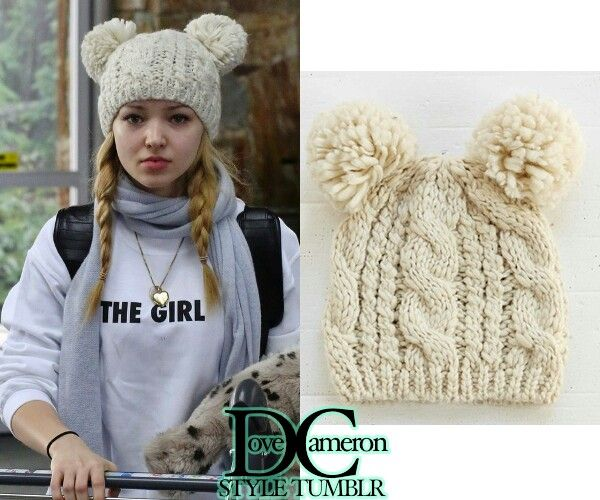 Cute warm cap for the winter