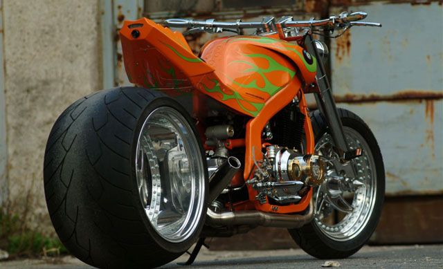 The most extreme Suzuki GS 500 on earth. By Jim Knopf
