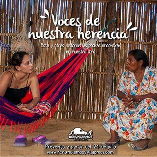 Cuando el viaje era aún una idea incipiente, nos prometimos no volver a dar un paso por fuera de #Colombia sin antes haber pisado las huellas de nuestra propia herencia. Ya en las rutas, nos dimos seis meses para darle una probada a la inabarcable diversidad del país que nos vio nacer. El intercambio cultural que ven en la foto ocurrió en el departamento de #LaGuajira. Idelsa, la indígena Wayuú que me acompaña, y yo, somos dos colombianas diametralmente opuestas; pero tenemos en común la…