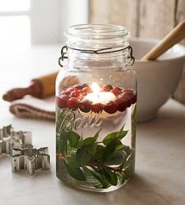 Floating Christmas Candle Ideas