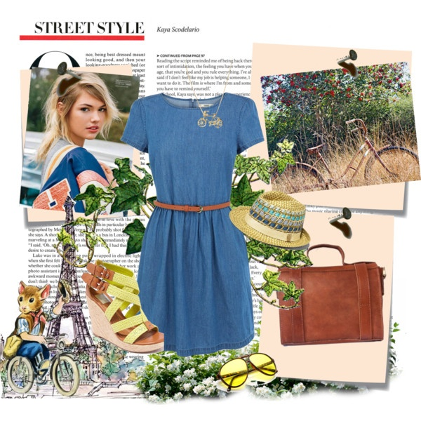 Bicycle by bonnieai on Polyvore