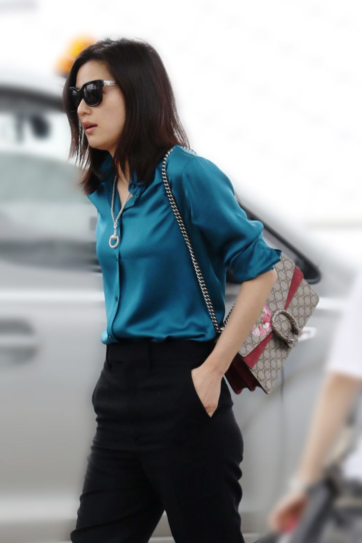South Korean Actress Gianna Jun Wears From The Gucci Fall