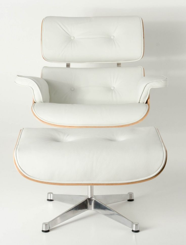 Milano Republic Furniture - Replica Eames lounge chair ottoman -White Premium Italian Leather with White timber, $999.00 (http://www.milanorepublicfurniture.com.au/replica-eames-lounge-chair-ottoman-white-premium-italian-leather-with-white-timber/)