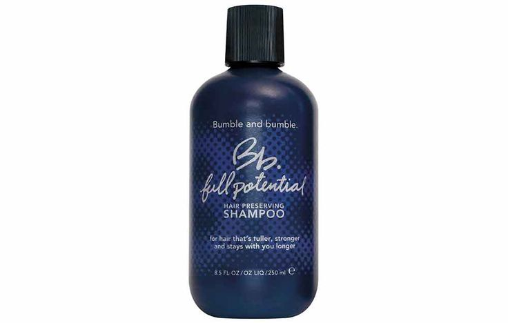 Bumble and Bumble Full Potential Hair Preserving Shampoo http://www.prevention.com/beauty/10-best-products-for-thinning-hair/slide/4