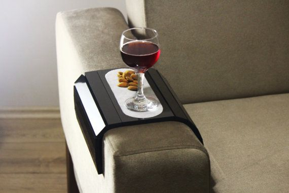 Sofa klaptafel handgemaakte Sofa Arm lade armleuning