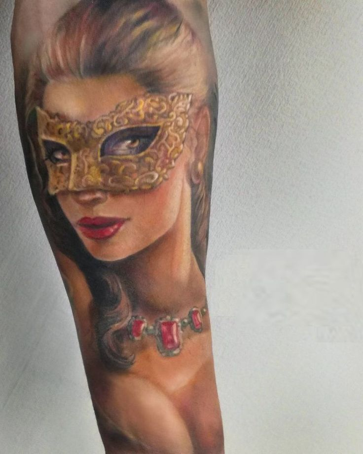 Tattoo Woman Face Mask: Best 25+ Mask Tattoo Ideas On Pinterest