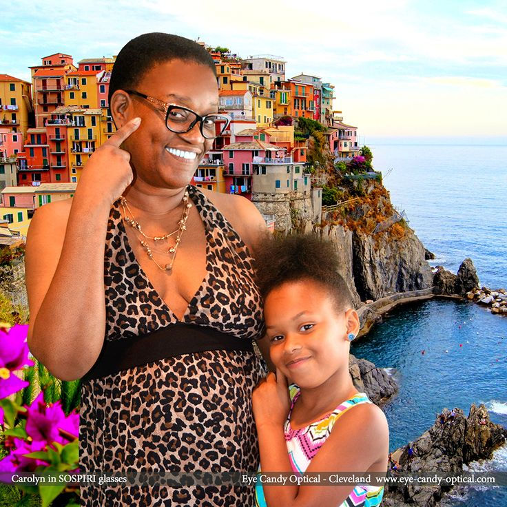 Carolyn took her family on a fun trip to Italy wearing her new sparkly designer glasses by Sospiri.  Eye Candy - a sweet Italian flavor the finest European Eyewear Fashion!  Eye Candy Optical Cleveland - The Best Glasses Store! (440) 250-9191 - Book an Eye Exam Online or Over the Phone www.eye-candy-optical.com
