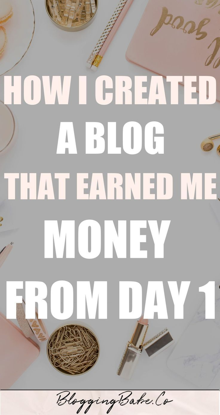 How To Start A Blog & Make Money From Day 1: How I Created A Profitable Blog From ScratchRM