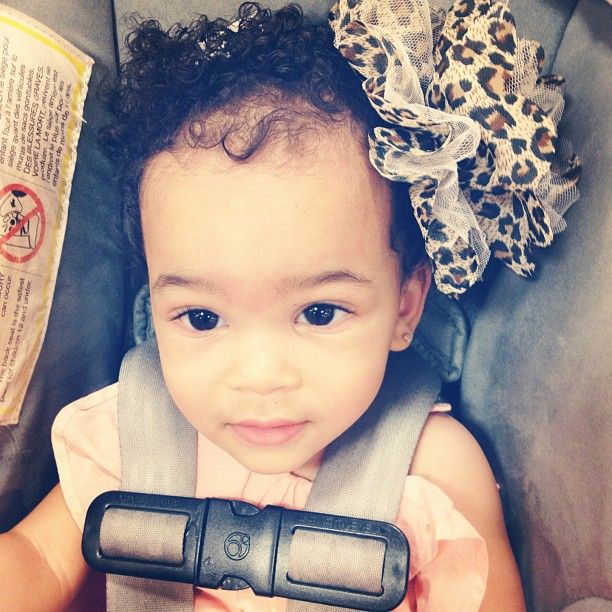 bow wow's daughter!<3 she's beautiful! #bowwow #daughter
