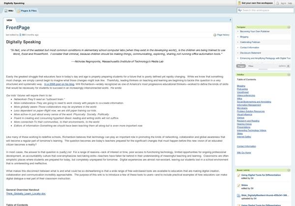 blogs technology wikipedia wane