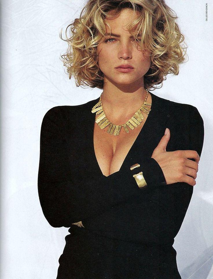 Rachel Williams 1991 by Gilles Bensimon for US ELLE