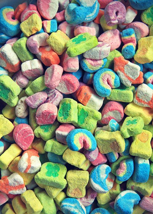 Are these actual Lucky Charms marshmallows, or knock offs? I need to know this.