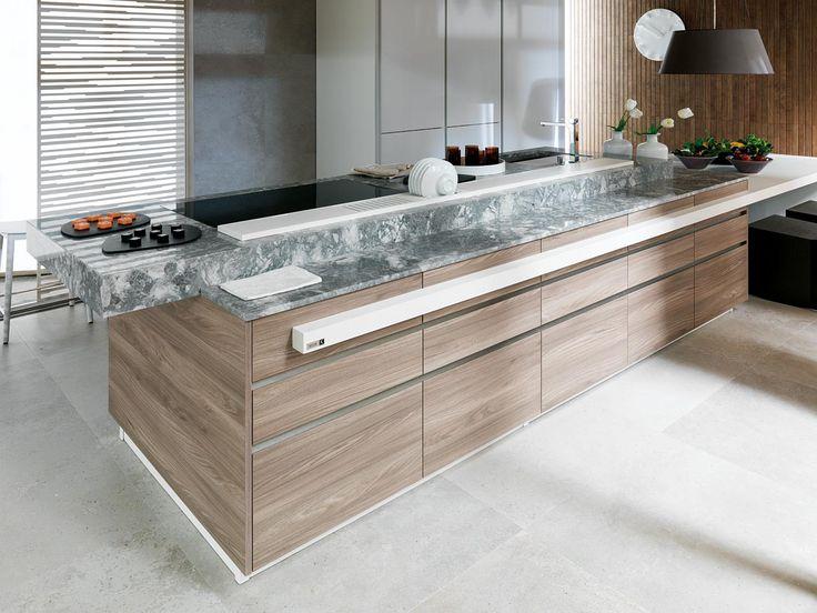 Cocina - madera y granito