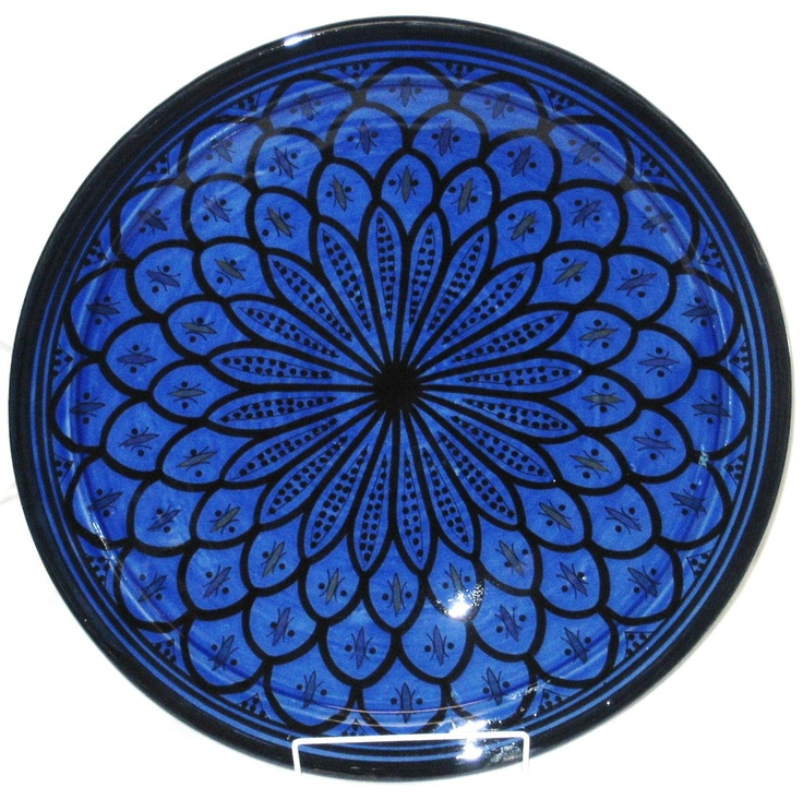 How amazing is this blue bowl. The pattern is perfect. Moroccan in Wynnum #artigiano
