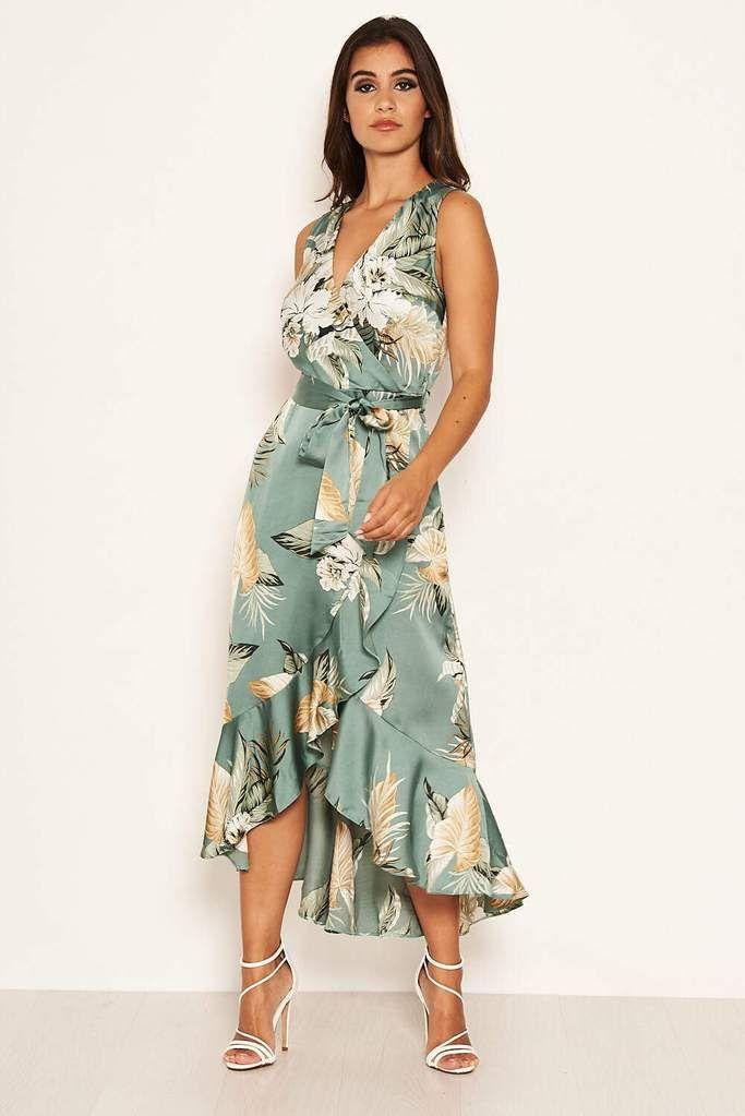 19+ Ax paris teal wrap dress inspirations