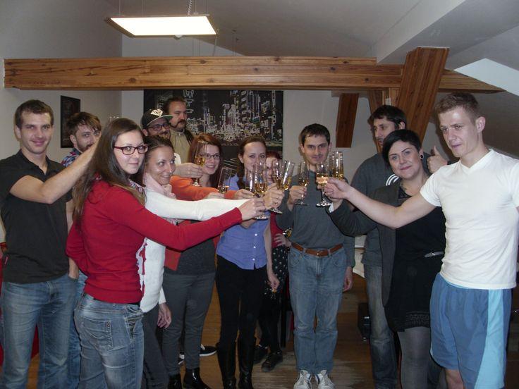 Na zdraví! Oslavili jsme narozeniny našeho vývojáře a programátora Tomáše. Všechno nej nej mu popřál celý tým SABANERO.