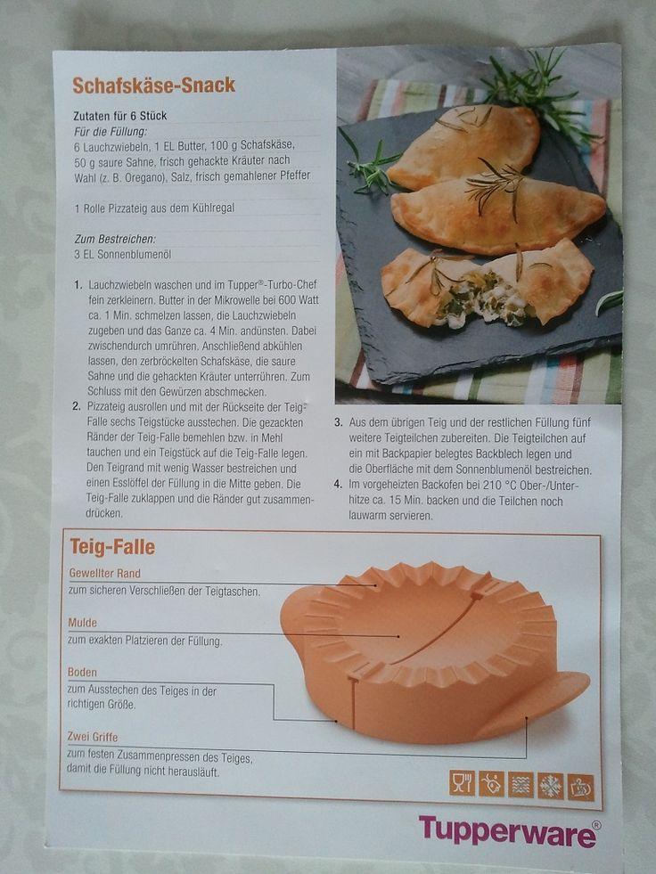 The Beauty Blog: [Mahlzeit] Apfeltaschen mit Tupperware Teigfalle