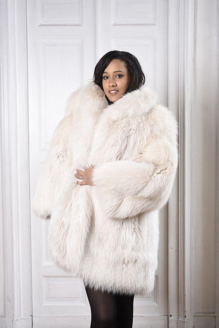VOLPE PELLICCIA FOX FUR COAT Fuchspelzmantel PELISSE FOURRURE RENARD ABRIGO PIEL | Clothing, Shoes & Accessories, Women's Clothing, Coats & Jackets | eBay!