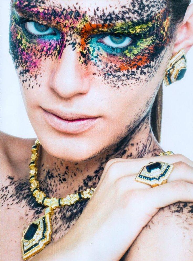 Colorful #makeup