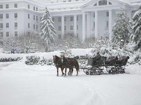 Christmas at The Greenbrier, White Sulphur Springs, West Virginia .... a 1778 National Historic landmark resort