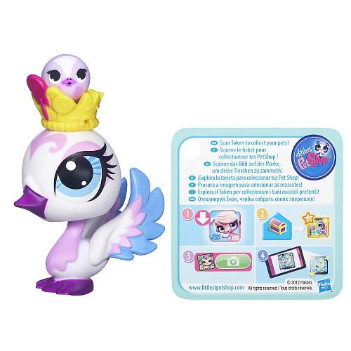 "Littlest Pet Shop Swan Pet and Swan Friend - Hasbro - Toys ""R"" Us"
