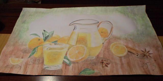 Create Your World: POMARAŃCZE W KUCHNI, czyli moje malunki // Oranges...
