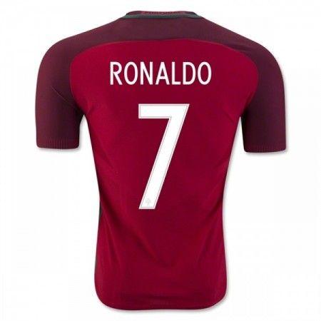 Portugal 2016 Cristiano Ronaldo 7 Hjemmedrakt Kortermet.  http://www.fotballpanett.com/portugal-2016-cristiano-ronaldo-7-hjemmedrakt-kortermet-1.  #fotballdrakter