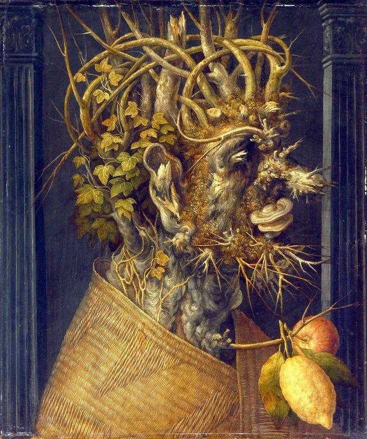 'Winter Face' by Giuseppe Archimboldo, 1573