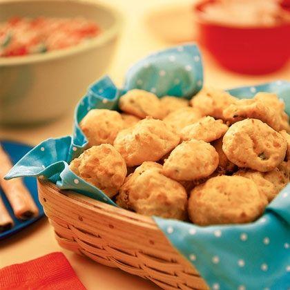 Fluffy Cheese Puffs