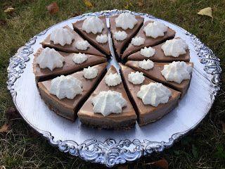 Kladdkaka är gott. Pannacotta är gott. Tillsammans är det fantastiskt. 10 bitar Kladdkaka 150 g smör 3 ägg 2½ dl strösocker 2...