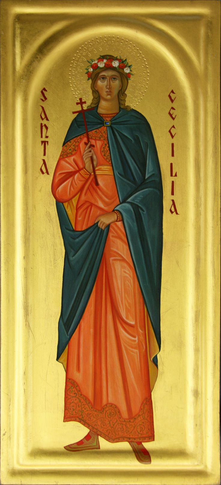 saint cecilia of rome She was martyred c117 suffocated for a while, and when that didn't kill her, she was beheaded grave was discovered in 817, and her body removed to the church of saint cecilia in rome tomb was opened in 1599, and her body found to be incorrupt.