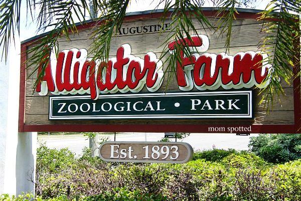 The St. Augustine Alligator Farm Zoological Park