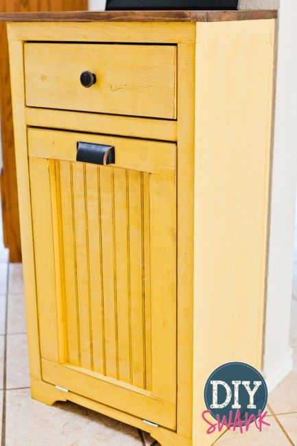 25 best images about tilt out trash bin on pinterest for Bins for kitchen cabinets