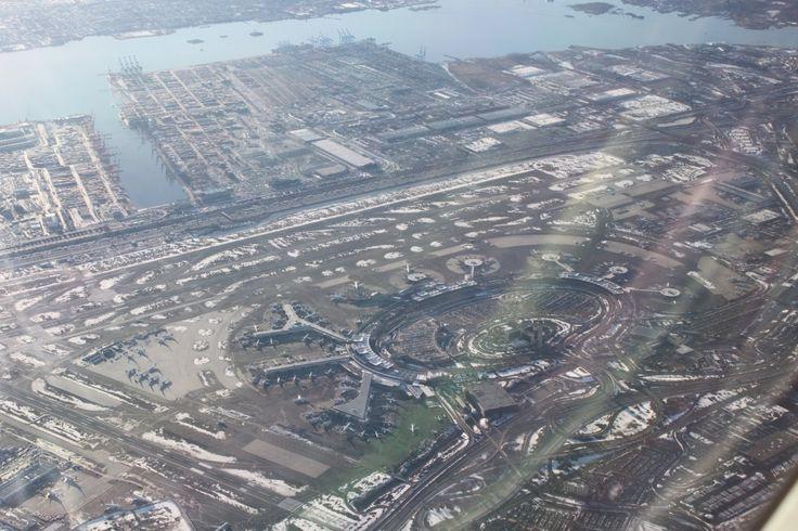 Here's Newark Liberty International Airport.