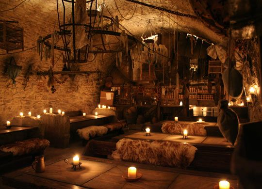 A 14th century Medieval tavern in Prague…I want to go here!!