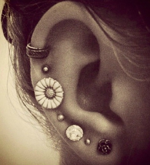 Forever my favourite earring combination