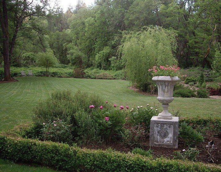 beautiful backyard from brambly the garden
