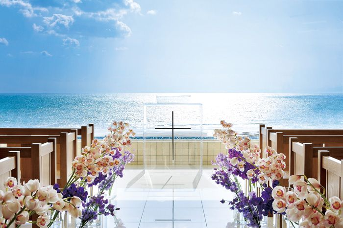 #NOVARESE #wedding #sea #Chapel #flower #purple #blue #pink  #AMANDANBLUE  #ノバレーゼ #ウエディング #海 #チャペル #フラワー #パープル #ブルー #ピンク #アマンダンブルー  #鎌倉