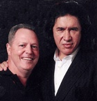 Wayne Burgan & Gene Simmons