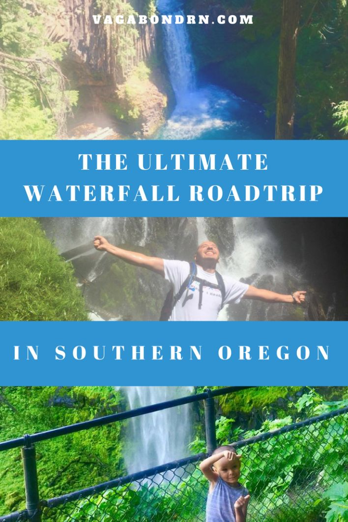The Ultimate Waterfall Roadtrip | Southern Oregon Waterfalls | Vagabond RN