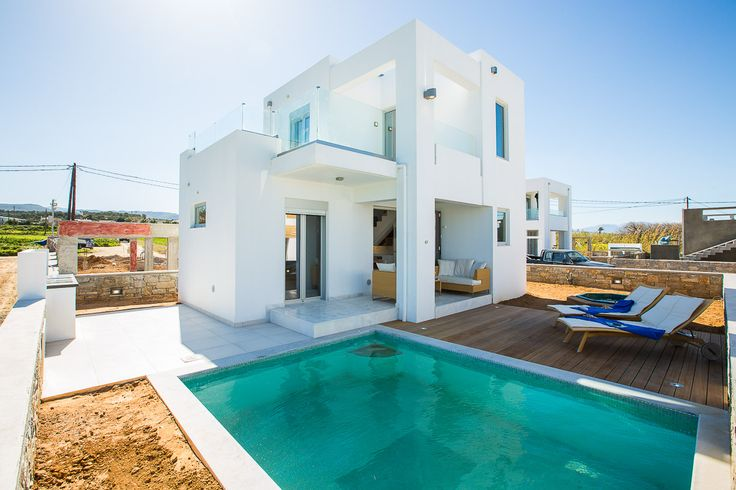 www.thalasses.com Thalasses Villas , Villa Melia in Pigianos Kampos, Rethymno, Crete, Greece #vacation_rental #thalasses_villas #4_luxurious_villas #villa_Melia #luxurious_accommodation #summer_holidays #privacy #summer_in_crete #Visit_Greece #outdoors #swimmingpool #sunbeds #sitting_areas #facade #love_the_view