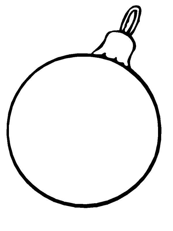 kleurplaten kerstballen - Google zoeken