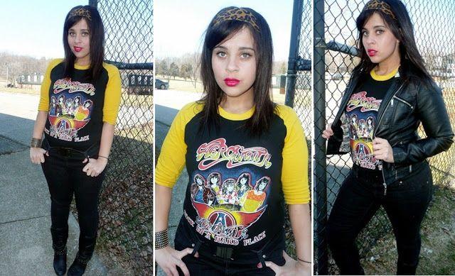 Rock the Threads: Vintage Aerosmith Shirt