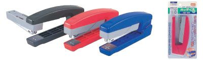 くるっと回せる2wayタイプ ホッチくる HD-10V - A stapler that rotates 90˚ so you can use it to bind zines!