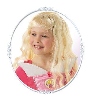 Lasten Prinsessa Ruusunen -peruukki.