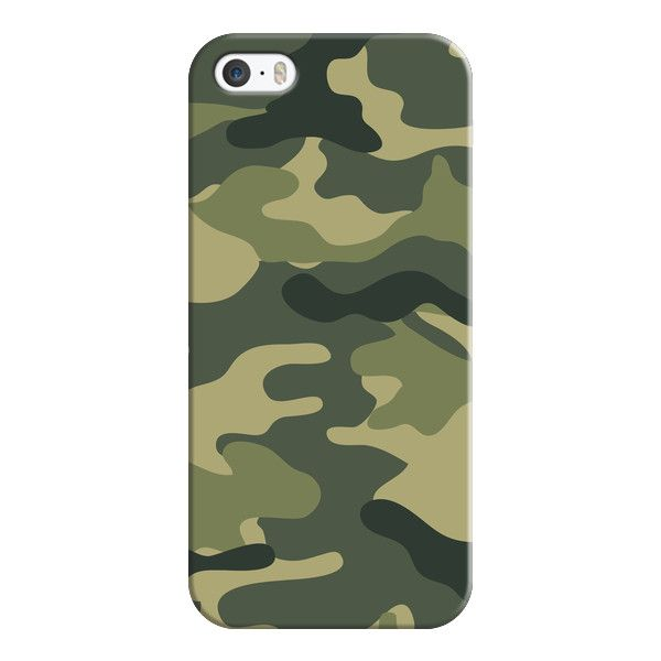 iPhone 6 Plus/6/5/5s/5c Case - Camo ($35) ❤ liked on Polyvore featuring accessories, tech accessories, iphone case, apple iphone cases, iphone cover case and slim iphone case