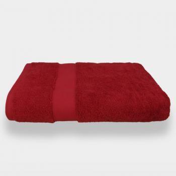 Lounge Duschtuch Rot - Kirsche