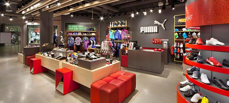 Sports Store | Retail Design | Shop Interior | Sports Display | studio 38 – Work – Puma: VM Concept Retail 2.0