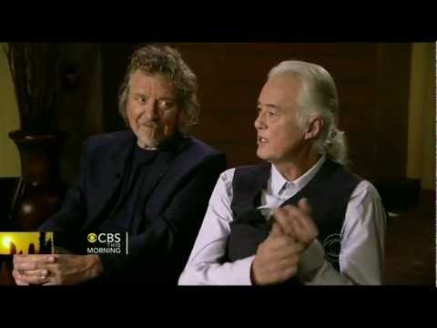 LED ZEPPELIN interview ( Charlie Rose CBS This Mourning 12/21/12 ) - YouTube